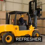 B2 - Counterbalance Lift Truck (Over 5 Tonne, Up to 15 Tonne ) Refresher Classroom Course