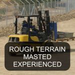 Rough Terrain Masted Lift Truck Experienced Operator Training Classroom Course