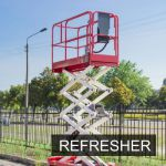 MEWP - Scissor Lift Refresher Operator Training Classroom Course