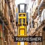 Narrow-Aisle Man-Down Lift Truck Refresher Operator Training Classroom Course